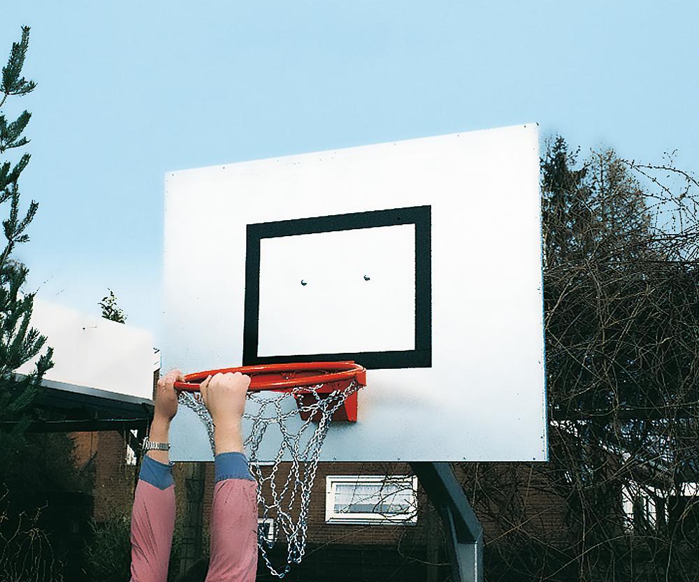 Basketballkorb abklappbar