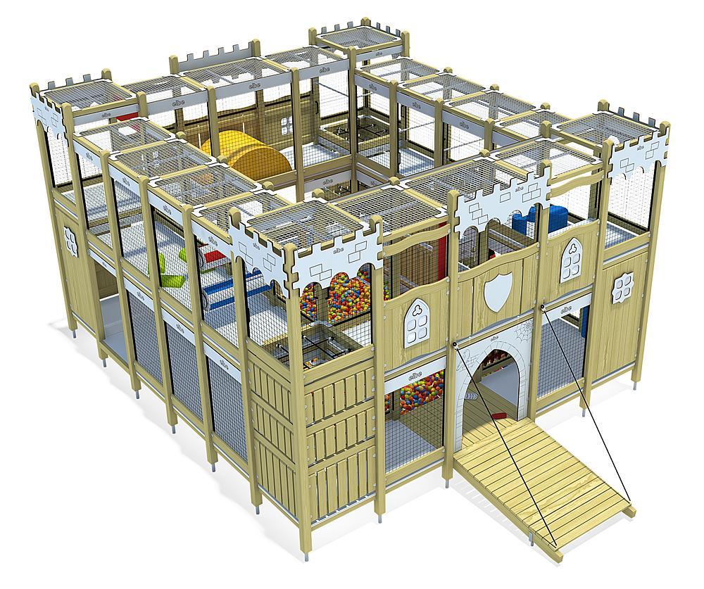 Indoorspielanlage Burg