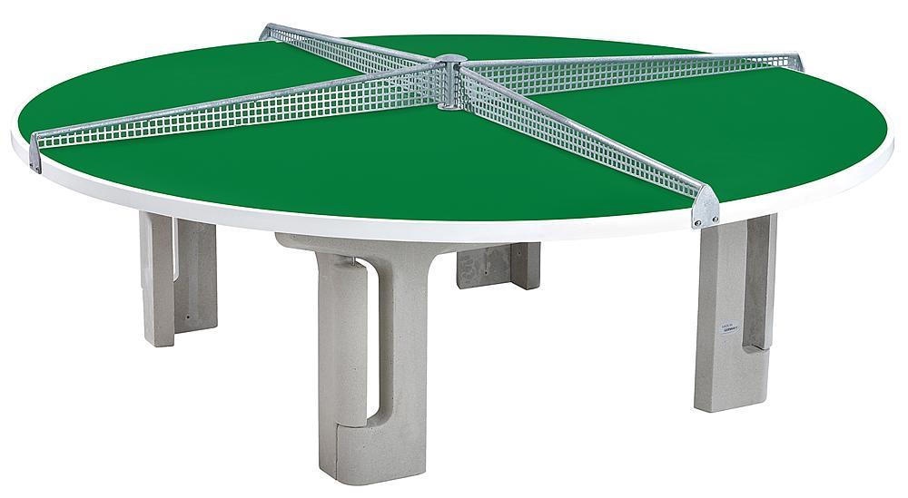 Tischtennisanlage rund, GFK