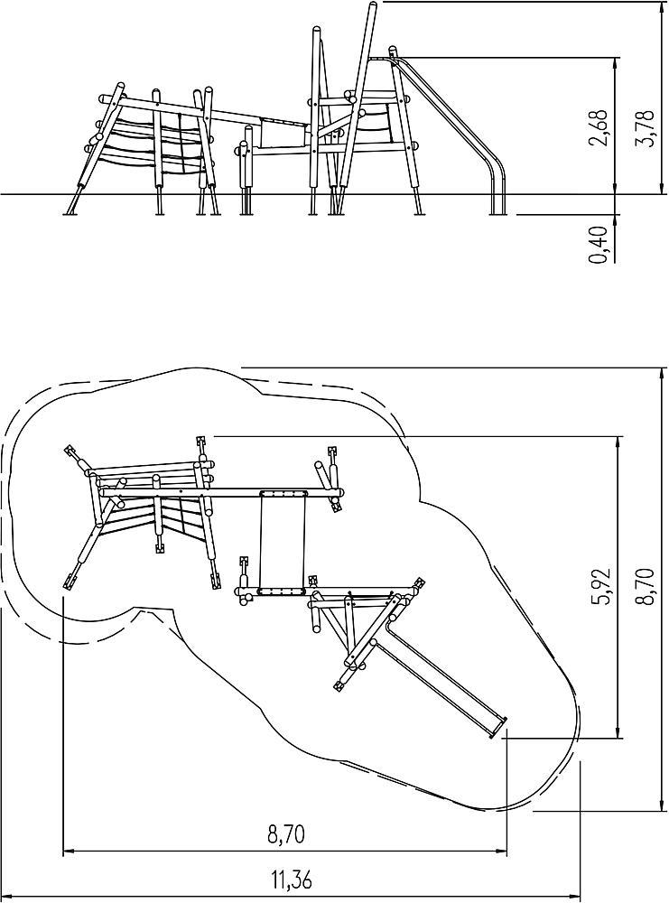 Kletterkombination Riku