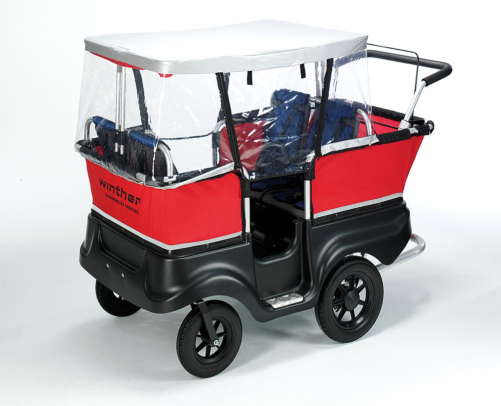 Winther® Regenschutz für Turtle Bus 4-Sitzer