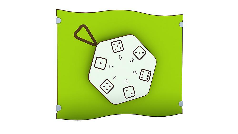 Spieltafel Würfelrad