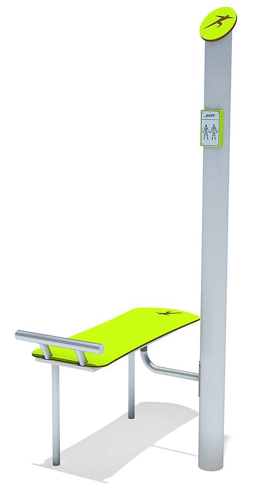 Bewegungs-Station Sit-up Bank
