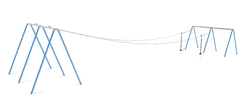Doppelseilbahn Fjall 20 m