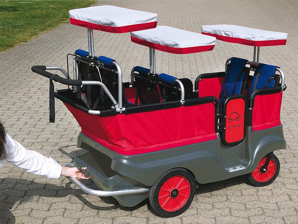 Winther® Gepäckkasten für Kinderbus