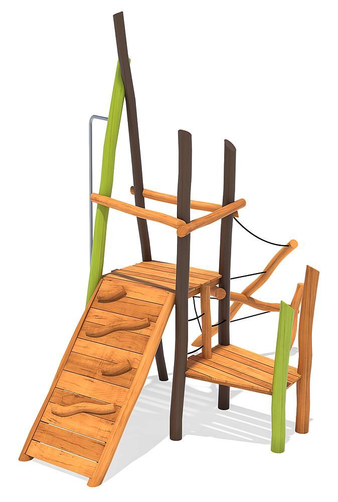 Spielanlage Klettergarten