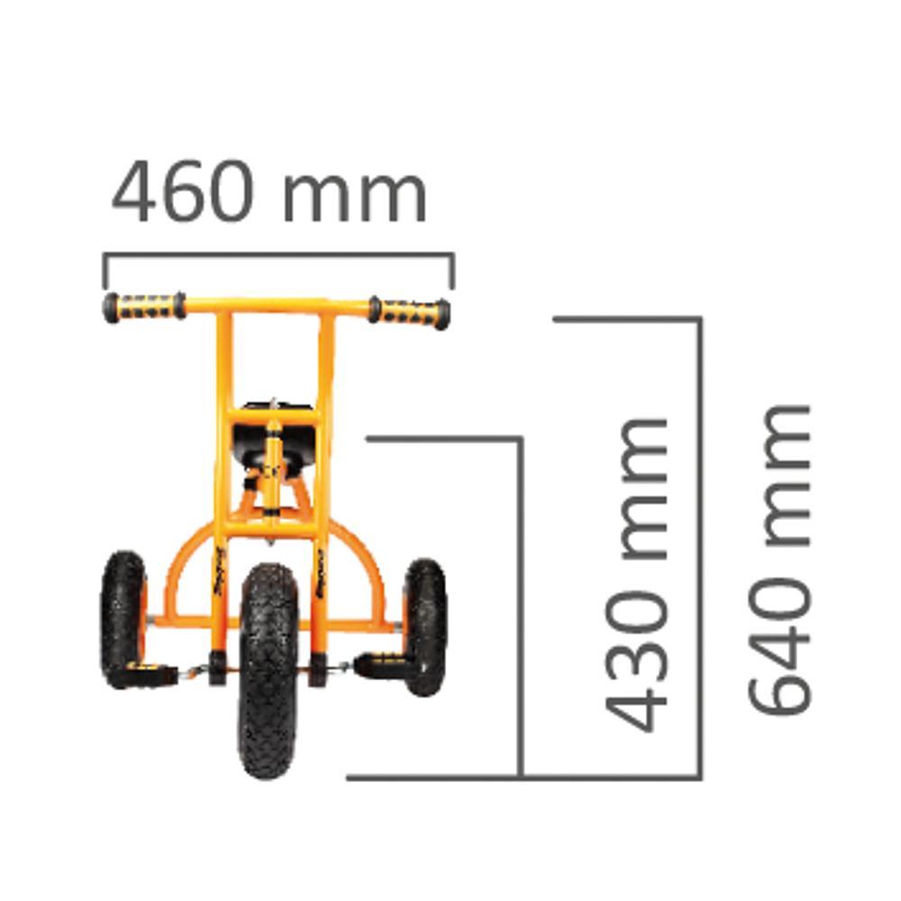 Dreirad groß