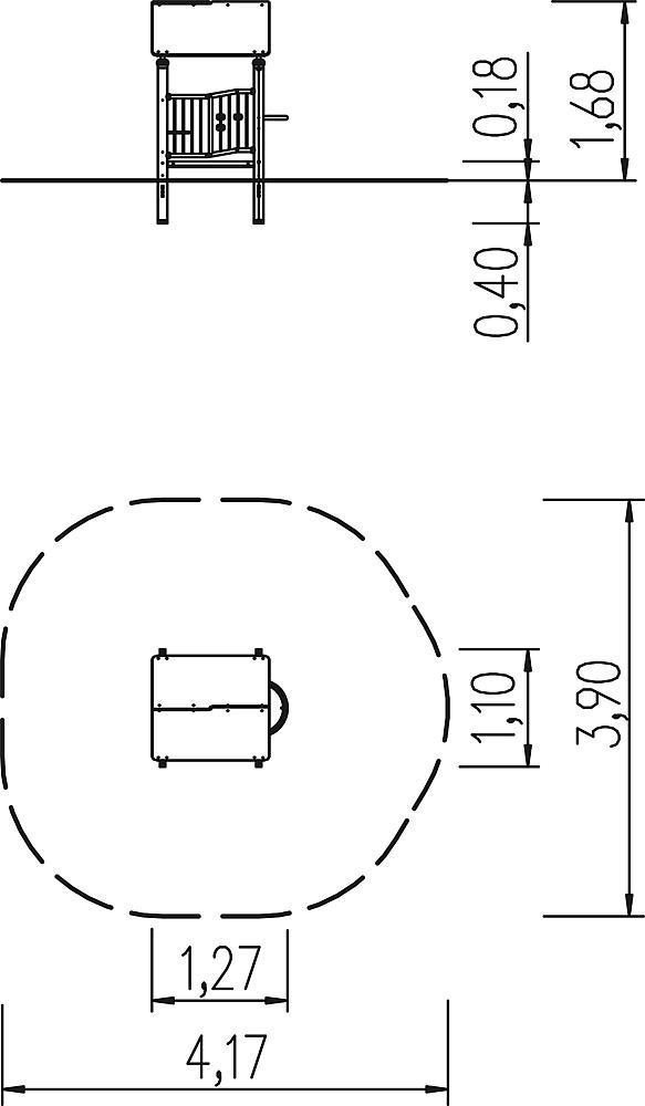 Krippe Spielhaus M51