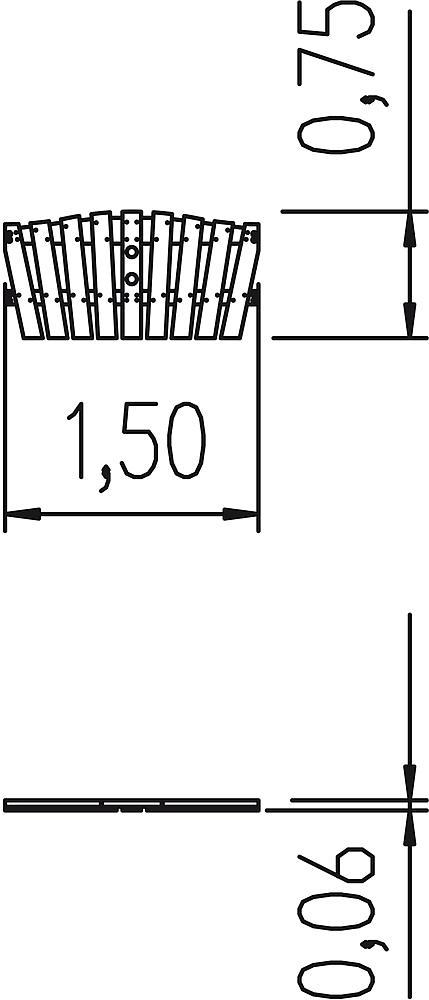 Zaun Schwalbe 150