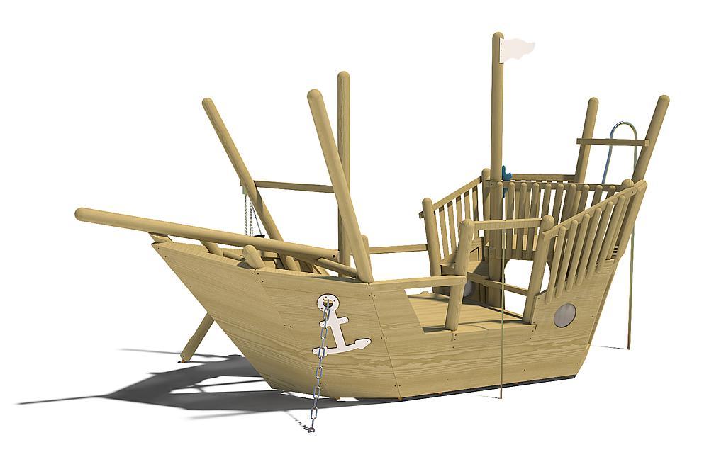 Sandspielschiff Nina