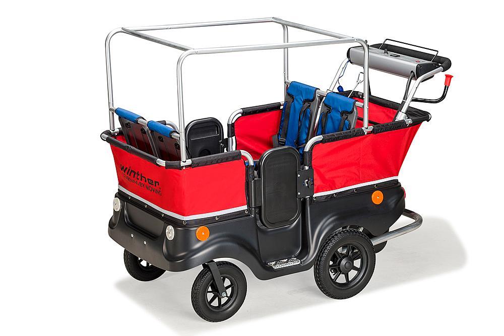 Winther® E-Turtle Kinderbus 4-Sitzer