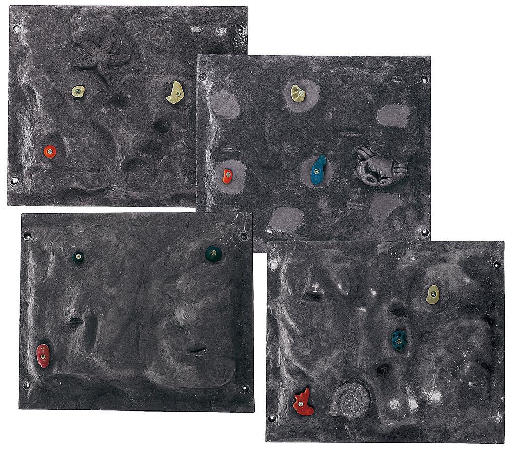 Kletterelementplatten-Set 4-tlg.