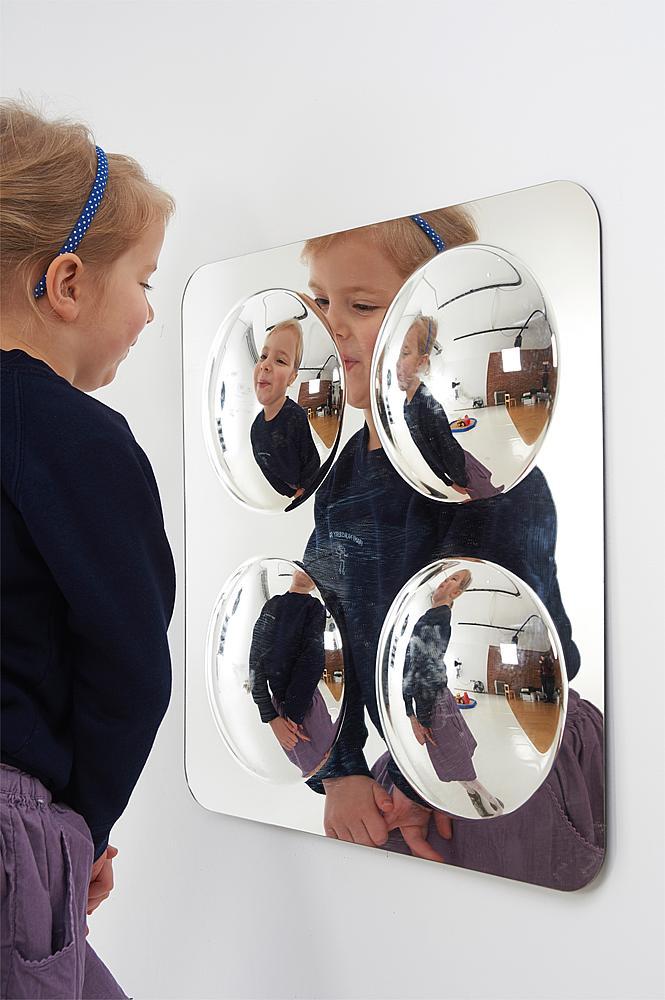 Spiegel Convex Klein 4 Wölbungen