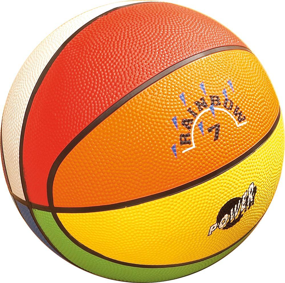 Basketball Regenbogen Größe 3