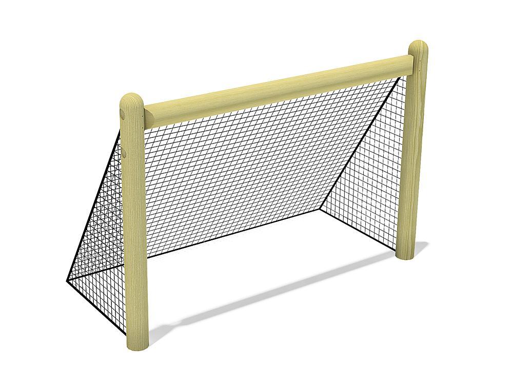Holztor mit Netz, 180x120 cm