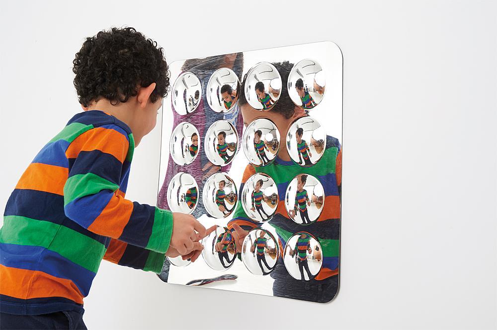 Spiegel Convex Klein 16 Wölbungen