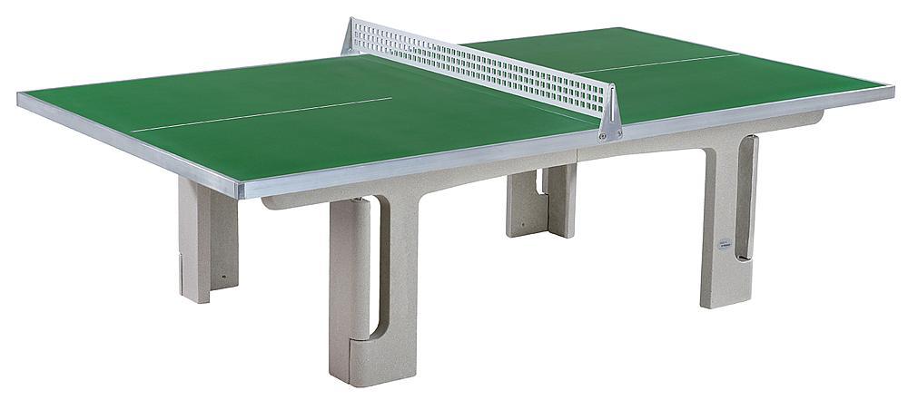 Tischtennisanlage Outdoor grün