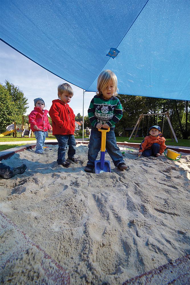 Sandkasten Soft 10 Elemente