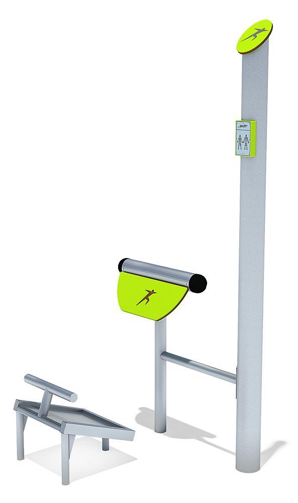 Bewegungs-Station Rückentrainer
