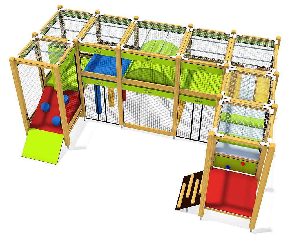 Indoorspielanlage Kombination 02