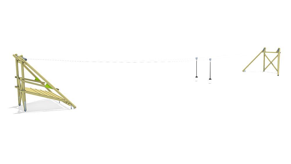 Seilbahn Sierra Duo 30 m