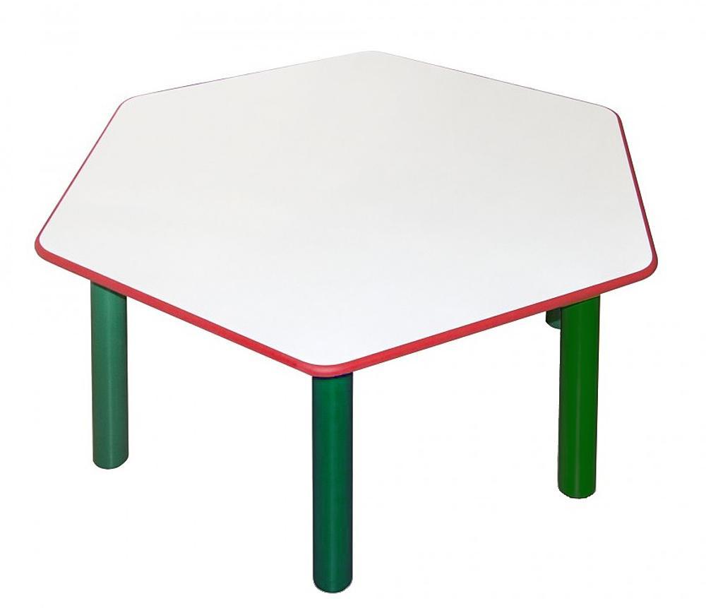 Tisch, sechseckig