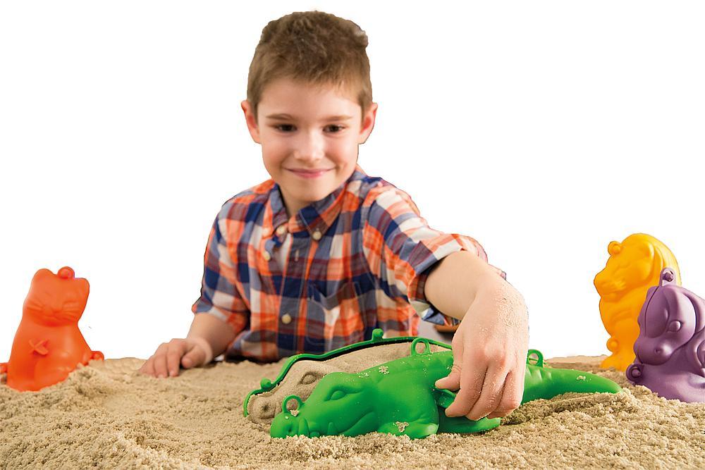 Sandformen groß dreidimensional