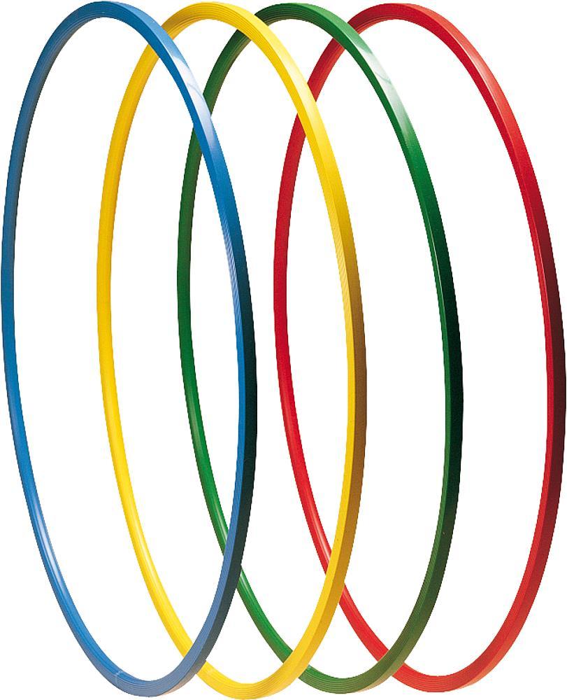 Gymnastikreifen aus Kunststoff, 70 cm