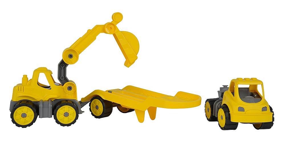 BIG® Power-Worker Mini Transporter mit Bagger